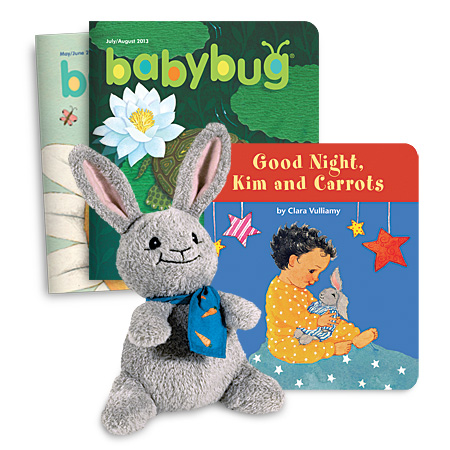 Babybug Bundled Subscription with Kim and Carrots book and doll set