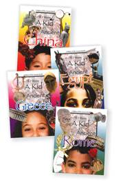 Ask Bundle Subscription with If I Were a Kid in Ancient Times 4-book set