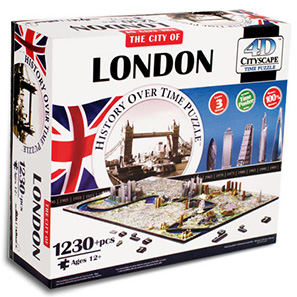 The City of London History Over Time Puzzle