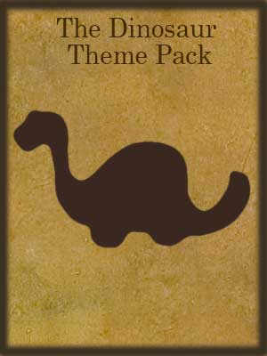 DINOSAUR DISCOVERY THEME PACK