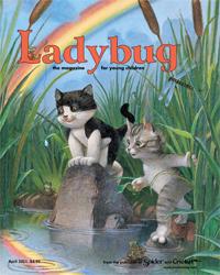 LADYBUG Magazine for Kids ages 3-6