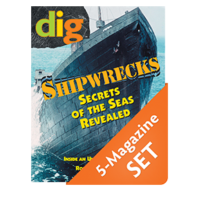 Shipwrecks, Tombs, and Mummies  Discovery Pack