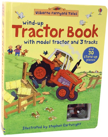 Wind Up Tractor Book